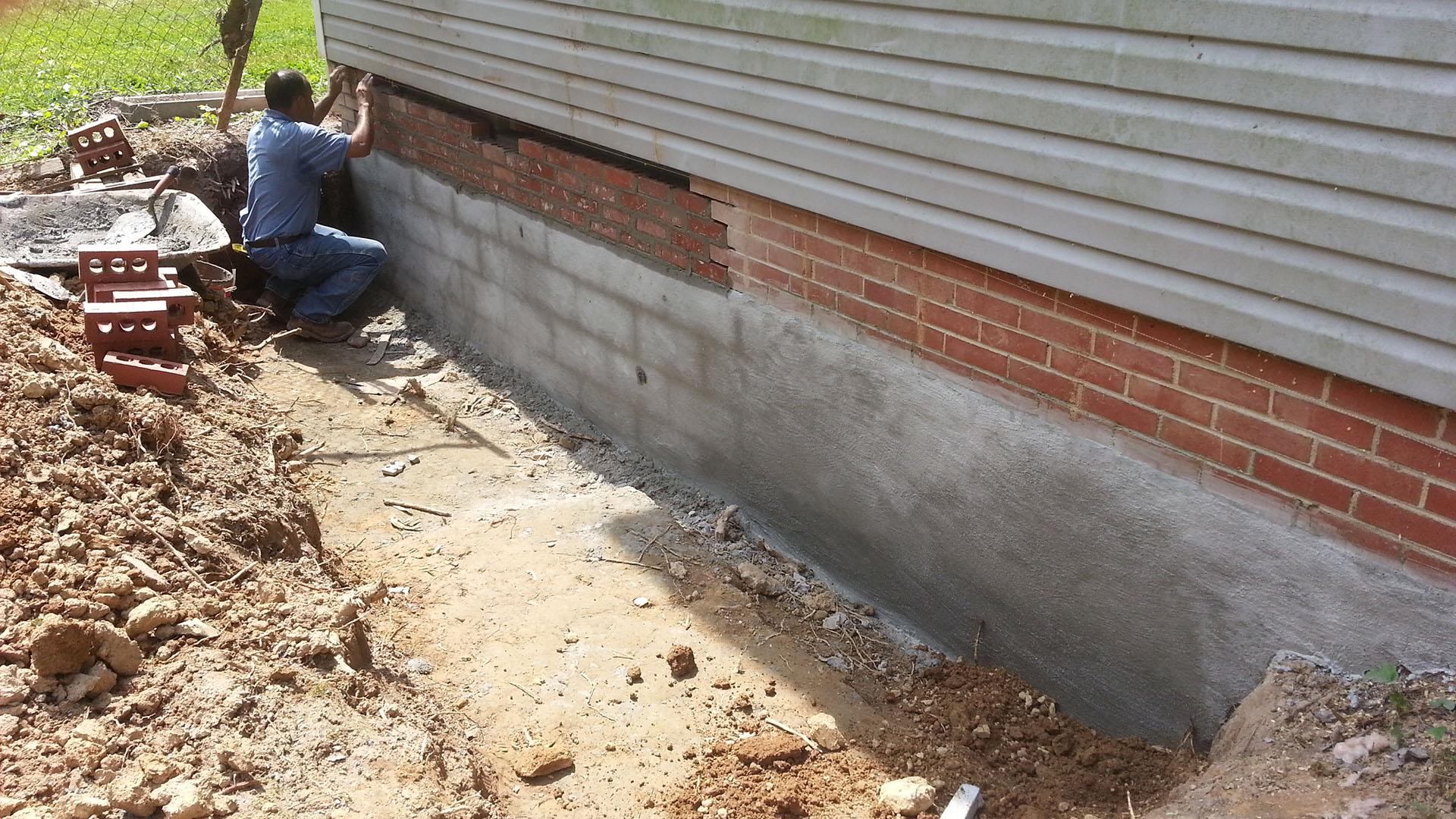 Foundation Repair Repaired
